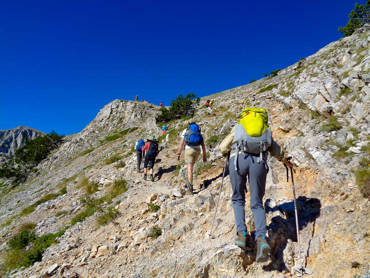 A great trekking holiday in Northern Greece