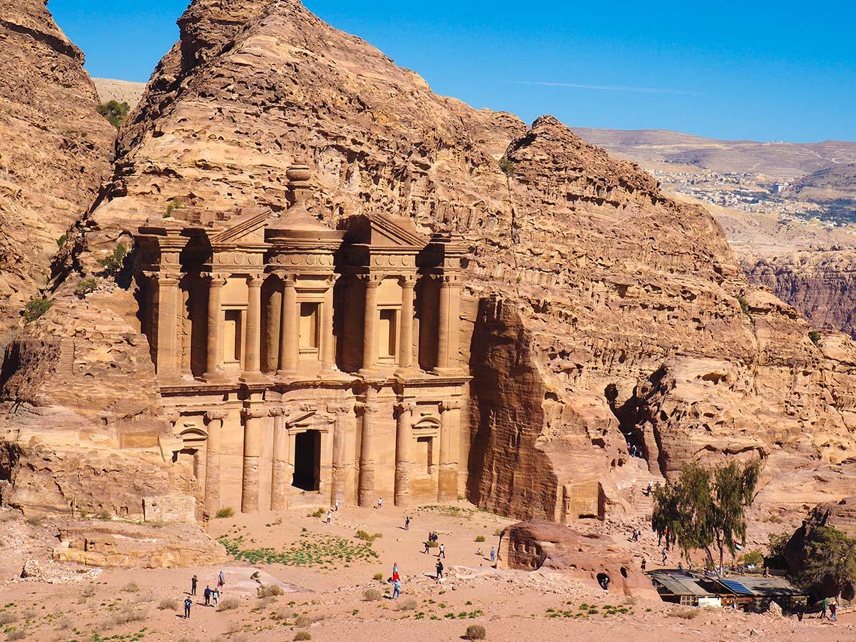 Petra on Dana to Petra Trekking Tour in Jordan