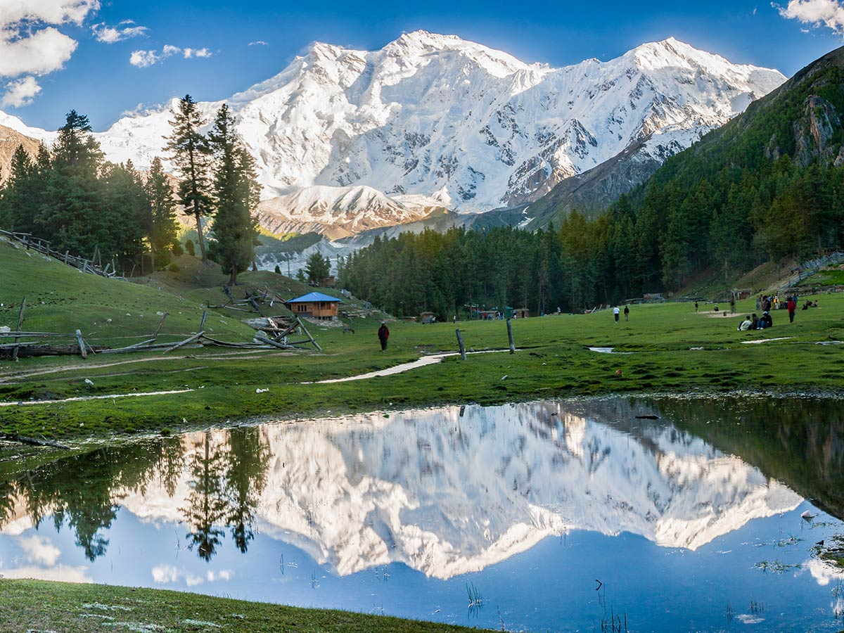 Great scenery on Fairy Meadows and Nanga Parbat Base Camp Tour in Pakistan