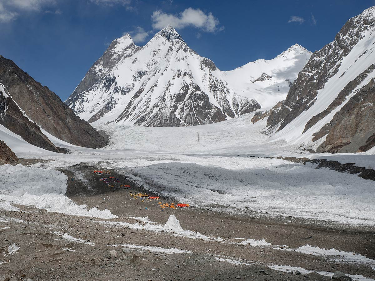 Kharut Peak on K2 Base Camp and Concordia Trek in Pakistan