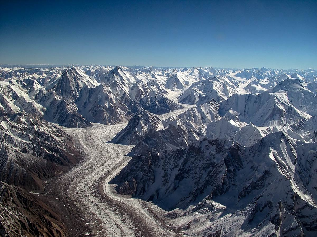 Baltoro Glacier on K2 Base Camp and Concordia Trek in Pakistan