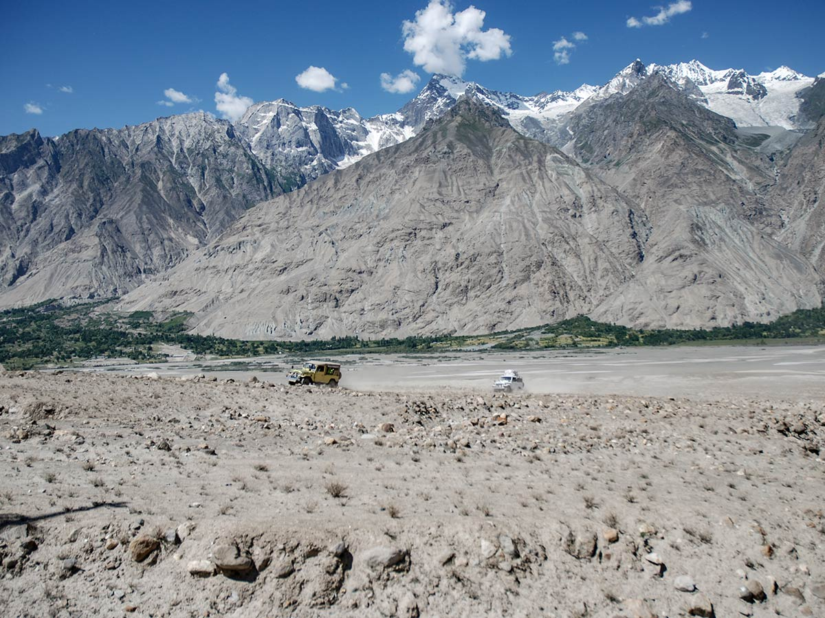 Driving to Askoli on K2 Base Camp and Concordia Trek in Pakistan