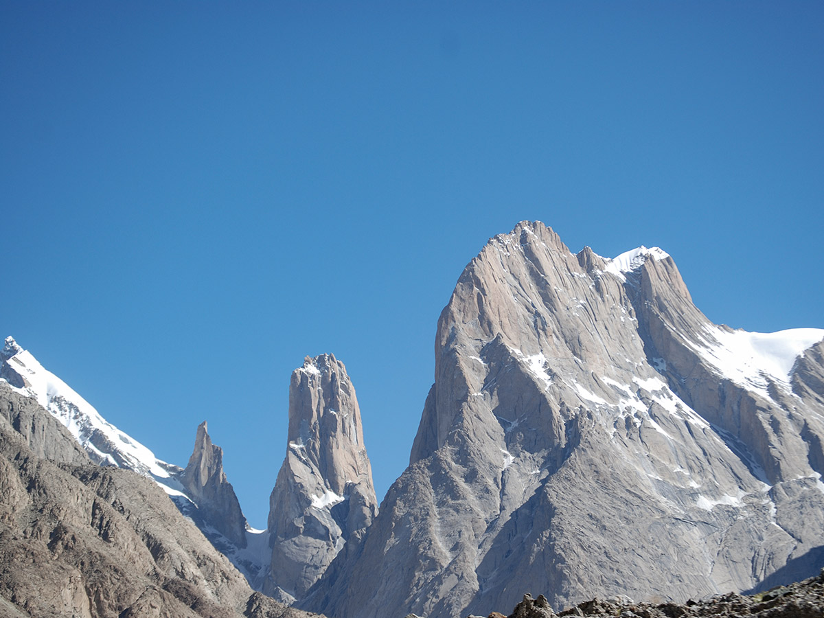 Trango Towers on K2 Base Camp and Concordia Trek in Pakistan
