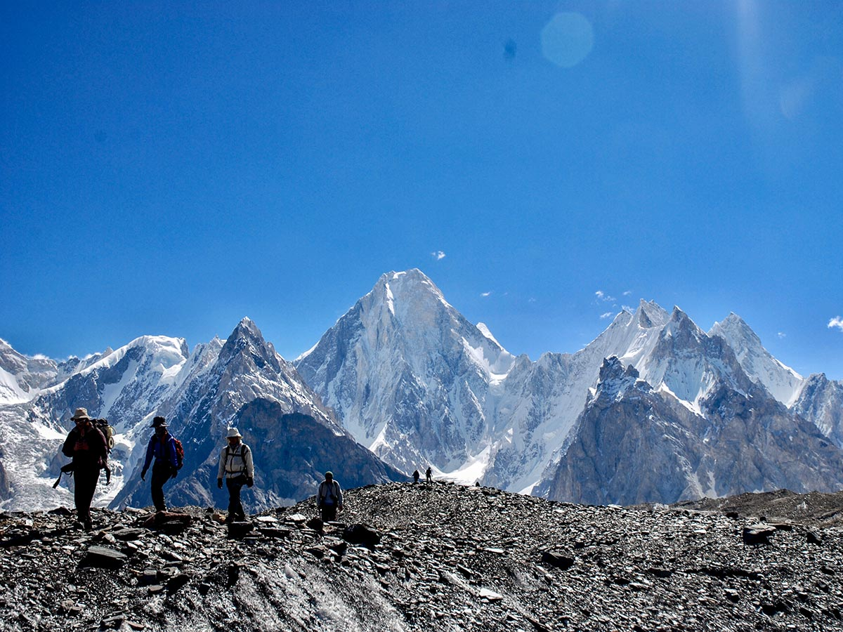 Gasherbrum IV & Baltoro Glacier on K2 Base Camp and Concordia Trek in Pakistan