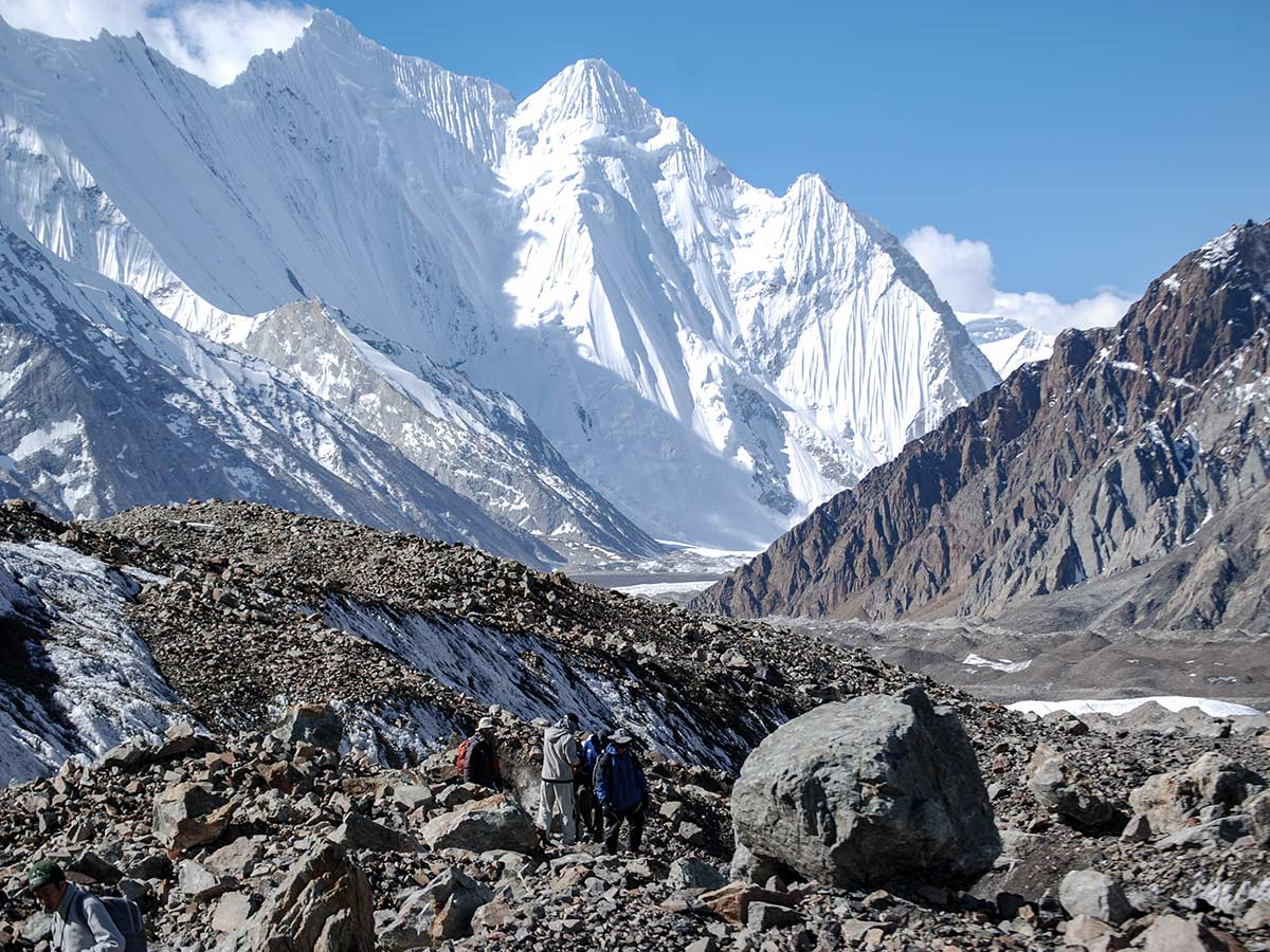Chogolisa views on K2 Base Camp and Concordia Trek in Pakistan