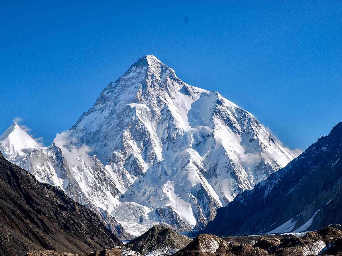 K2 views on K2 Base Camp and Concordia Trek in Pakistan