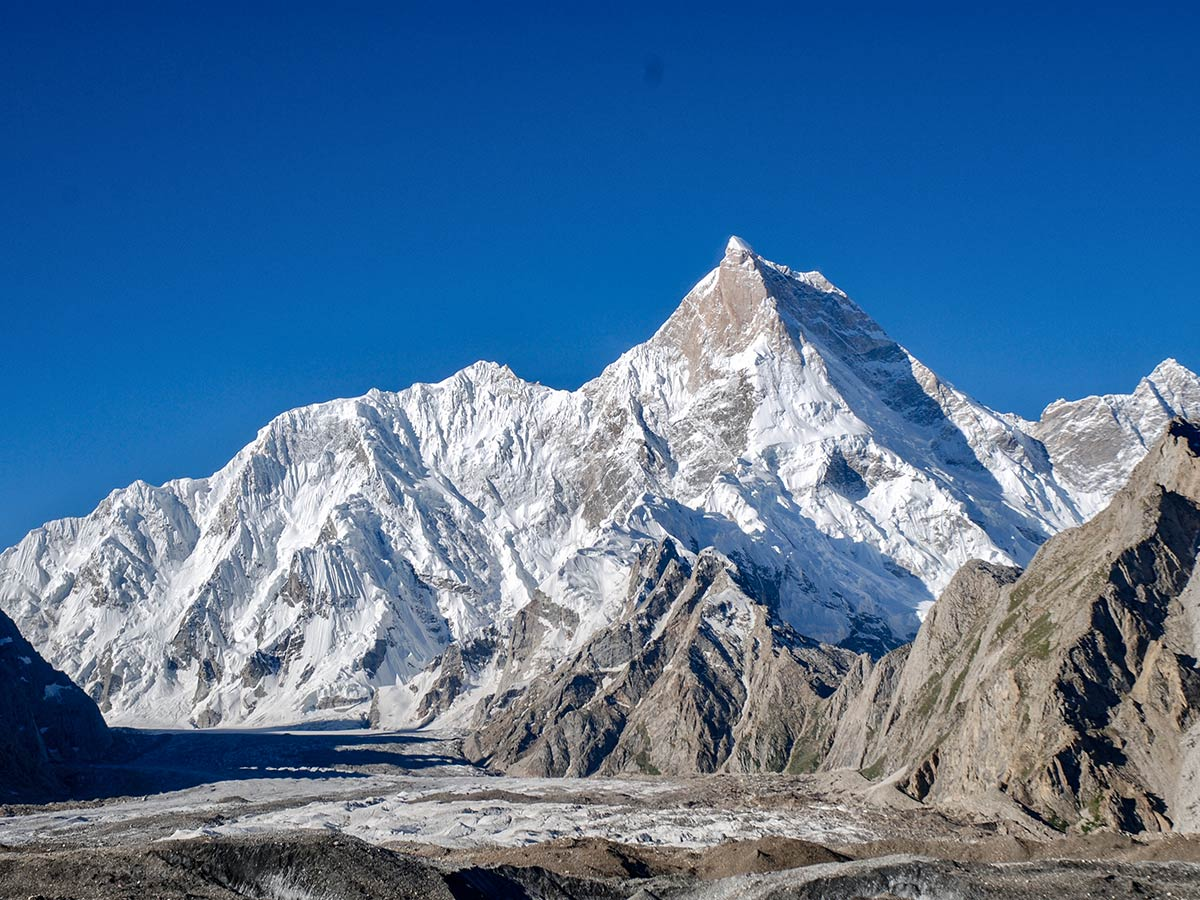 Masherbrum on K2 Base Camp and Concordia Trek in Pakistan