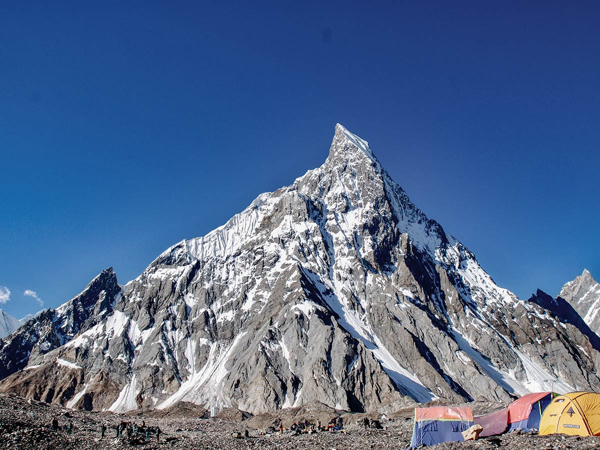Mitre Peak on K2 Base Camp and Concordia Trek in Pakistan