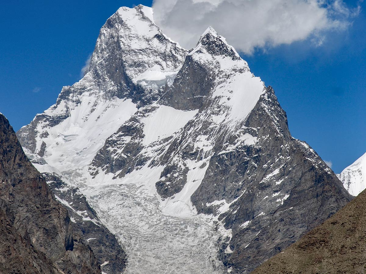 Muztagh Tower on K2 Base Camp and Concordia Trek in Pakistan