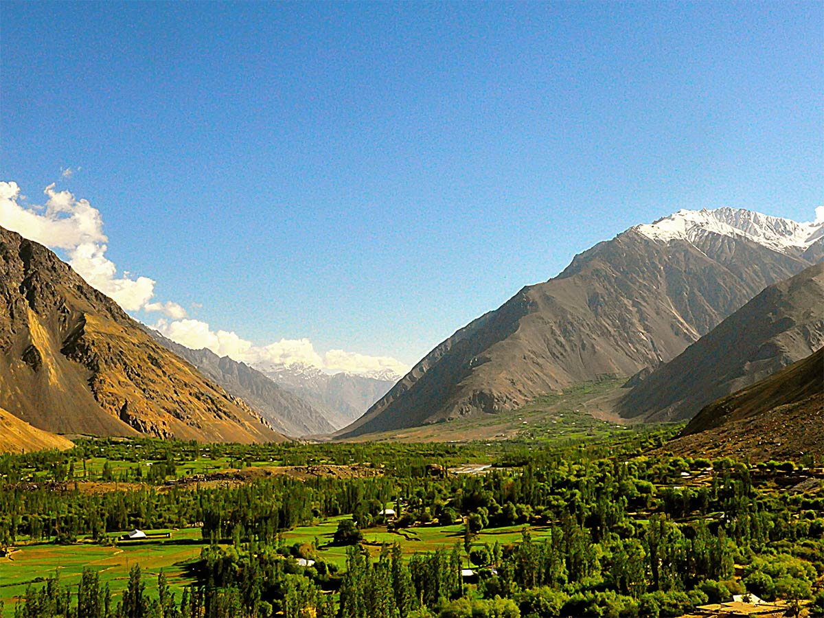Valley views from Chitral Valley Overland Tour in Pakistan