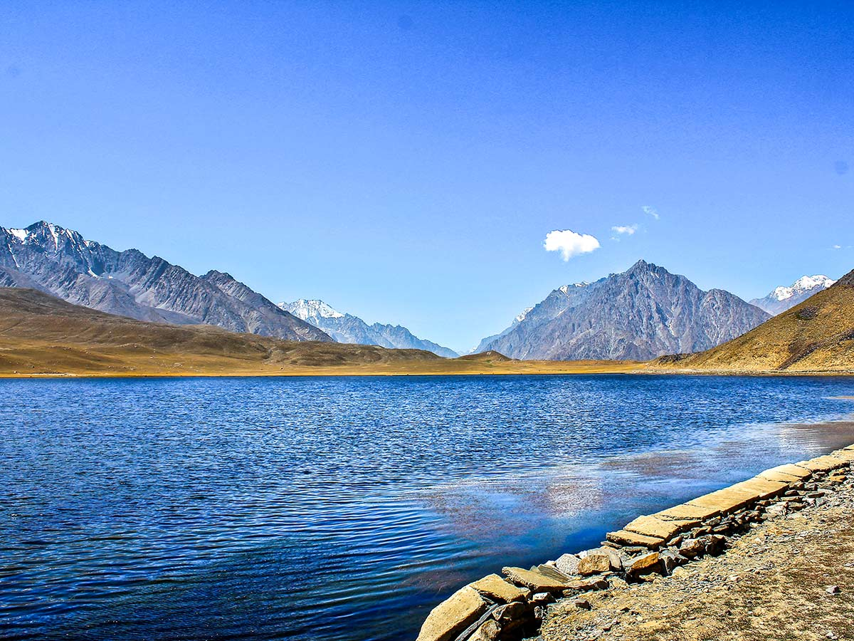 Phandar Lake on Chitral Valley Overland Tour in Pakistan