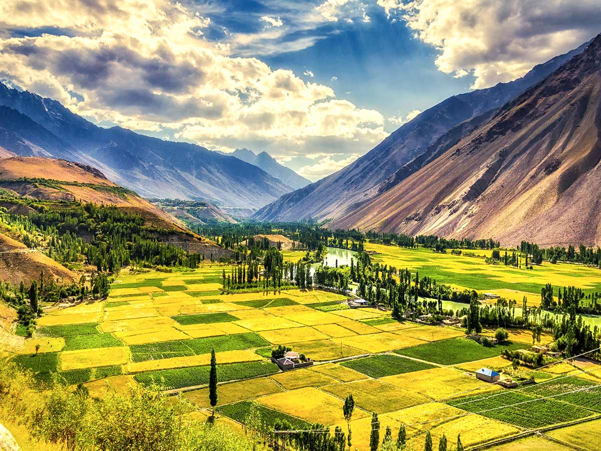 Phandar Valley on Chitral Valley Overland Tour