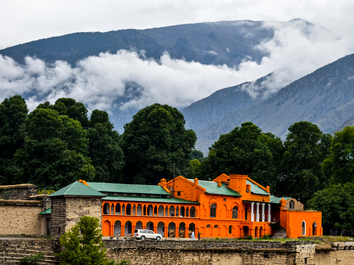 Shahi Fort in Chitral Valley on Chitral Valley Overland Tour in Pakistan