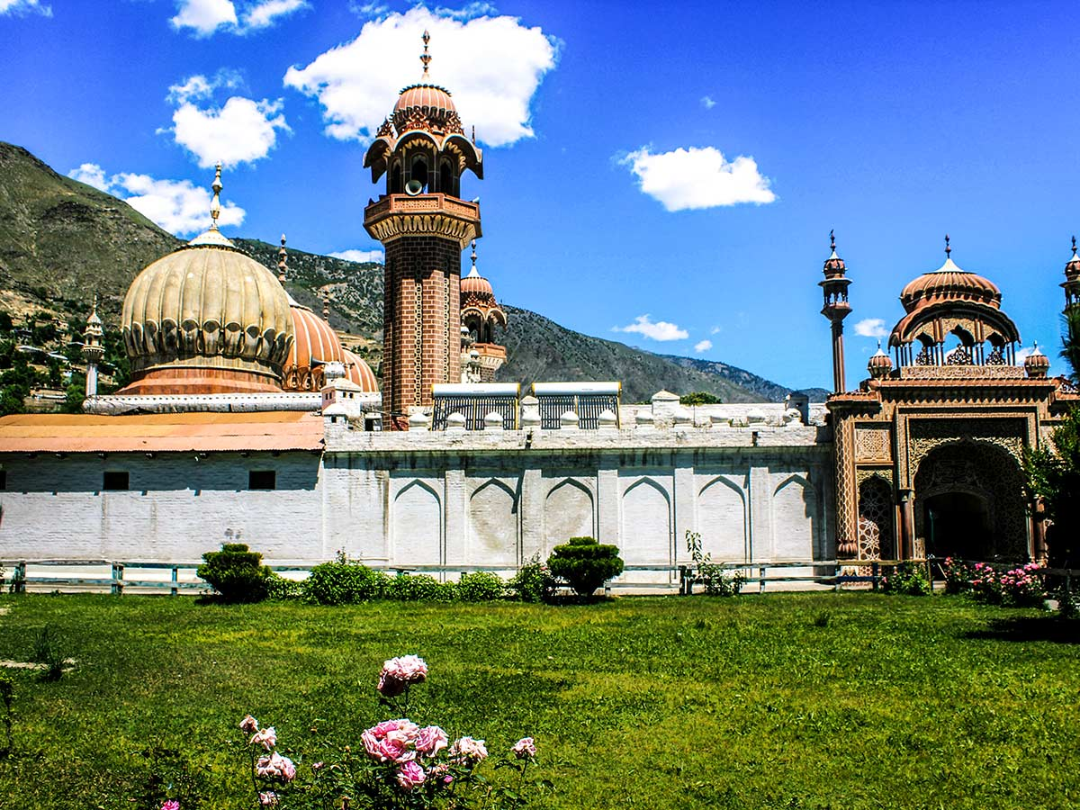 Shahi Mosque on Chitral Valley Overland Tour in Pakistan