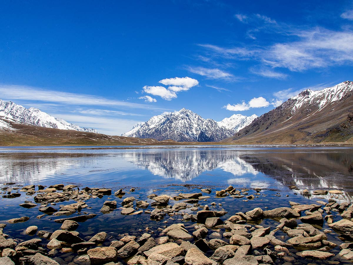 Shandur Lake on Chitral Valley Overland Tour in Pakistan