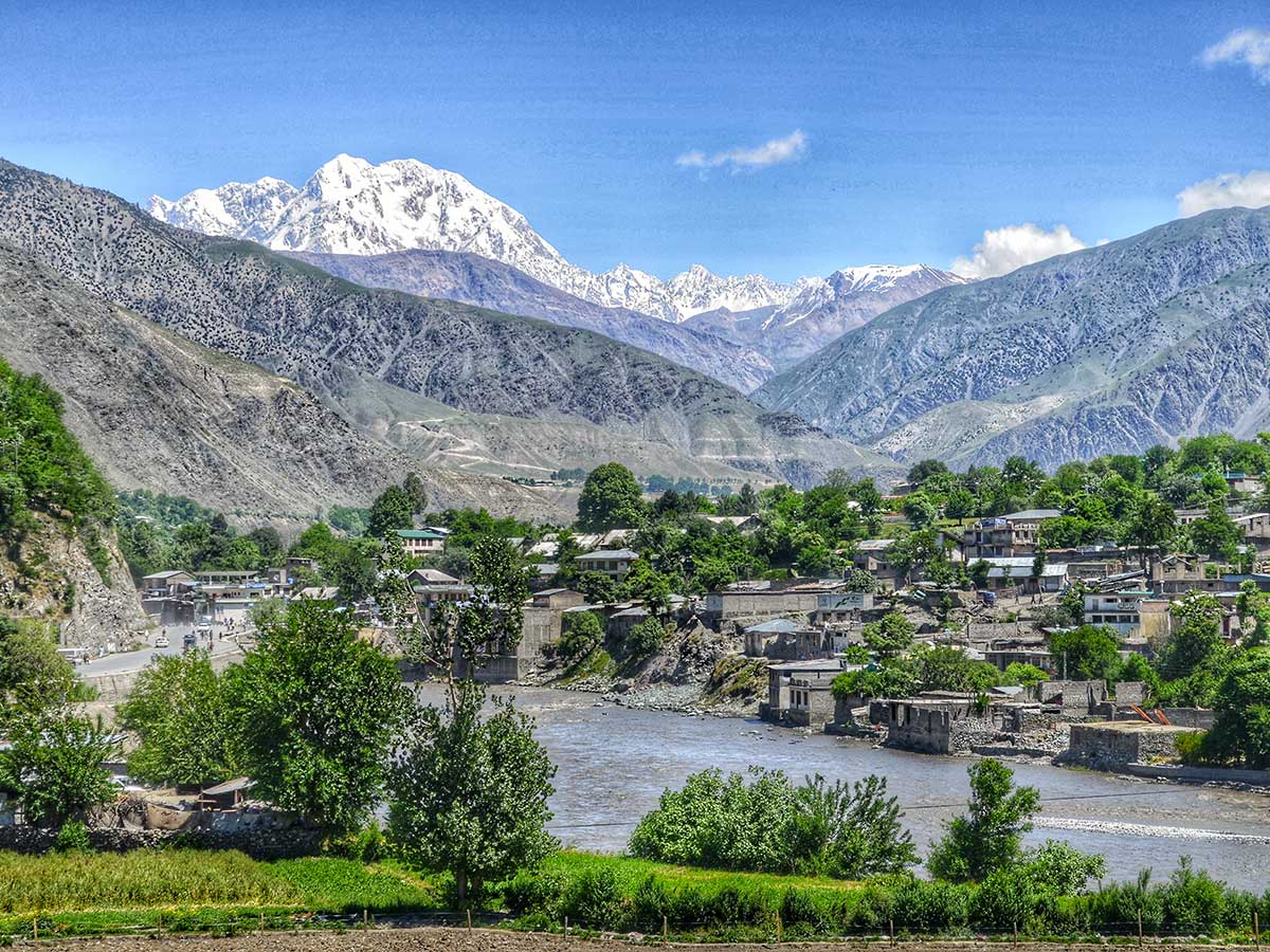 Beautiful scenery on Chitral Valley Overland Tour in Pakistan