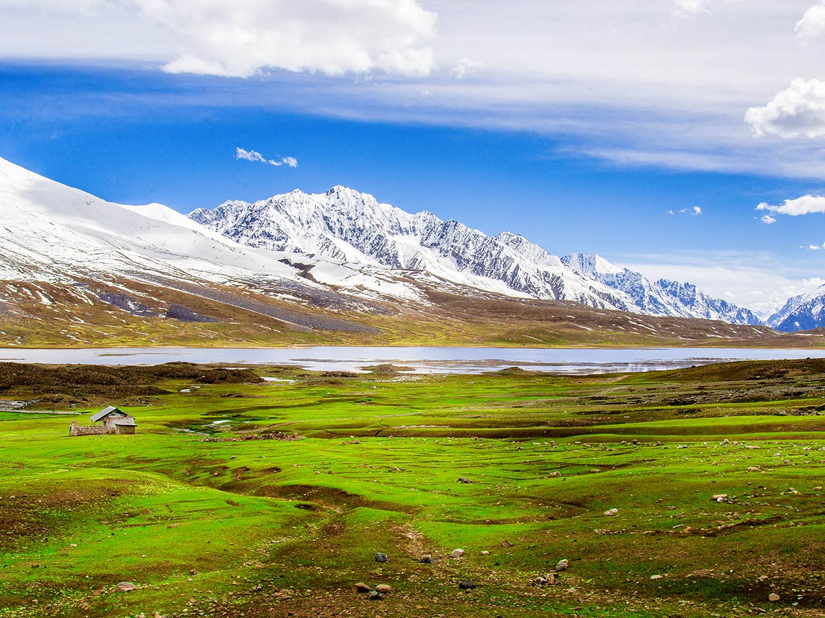Shandur Top Plateau on Chitral Valley Overland Tour in Pakistan