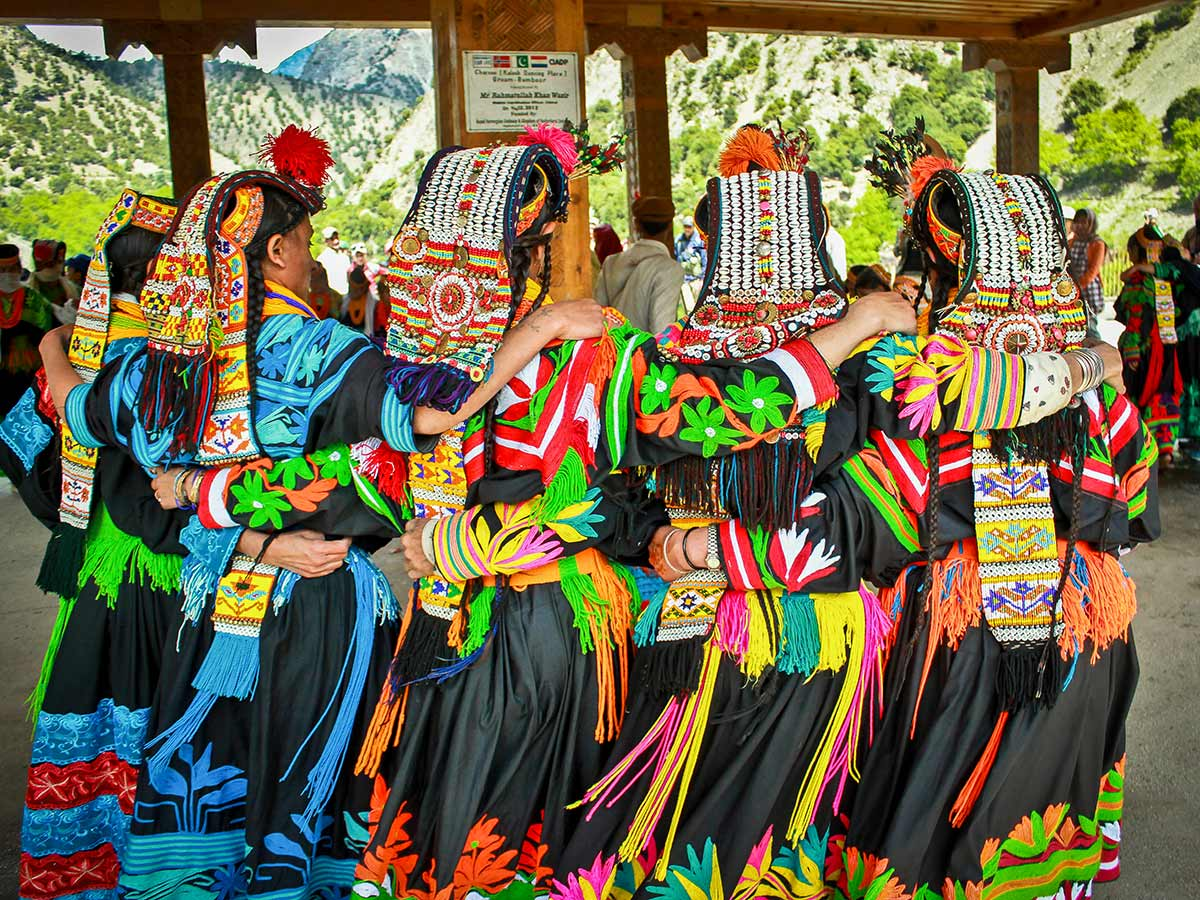 Colourful Kalash on Chitral Valley Overland Tour in Pakistan