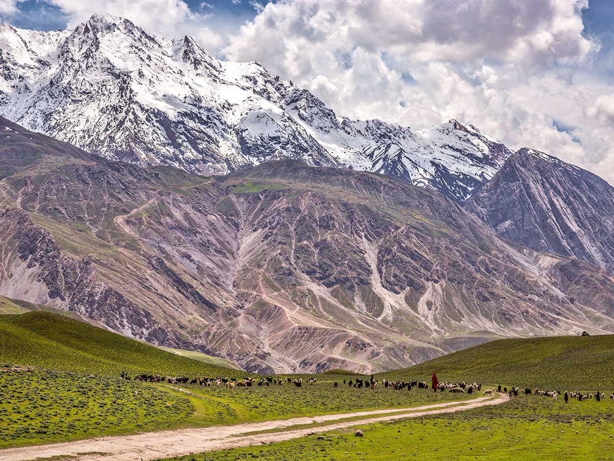 Mountains of Gol National Park on Chitral Valley Overland Tour