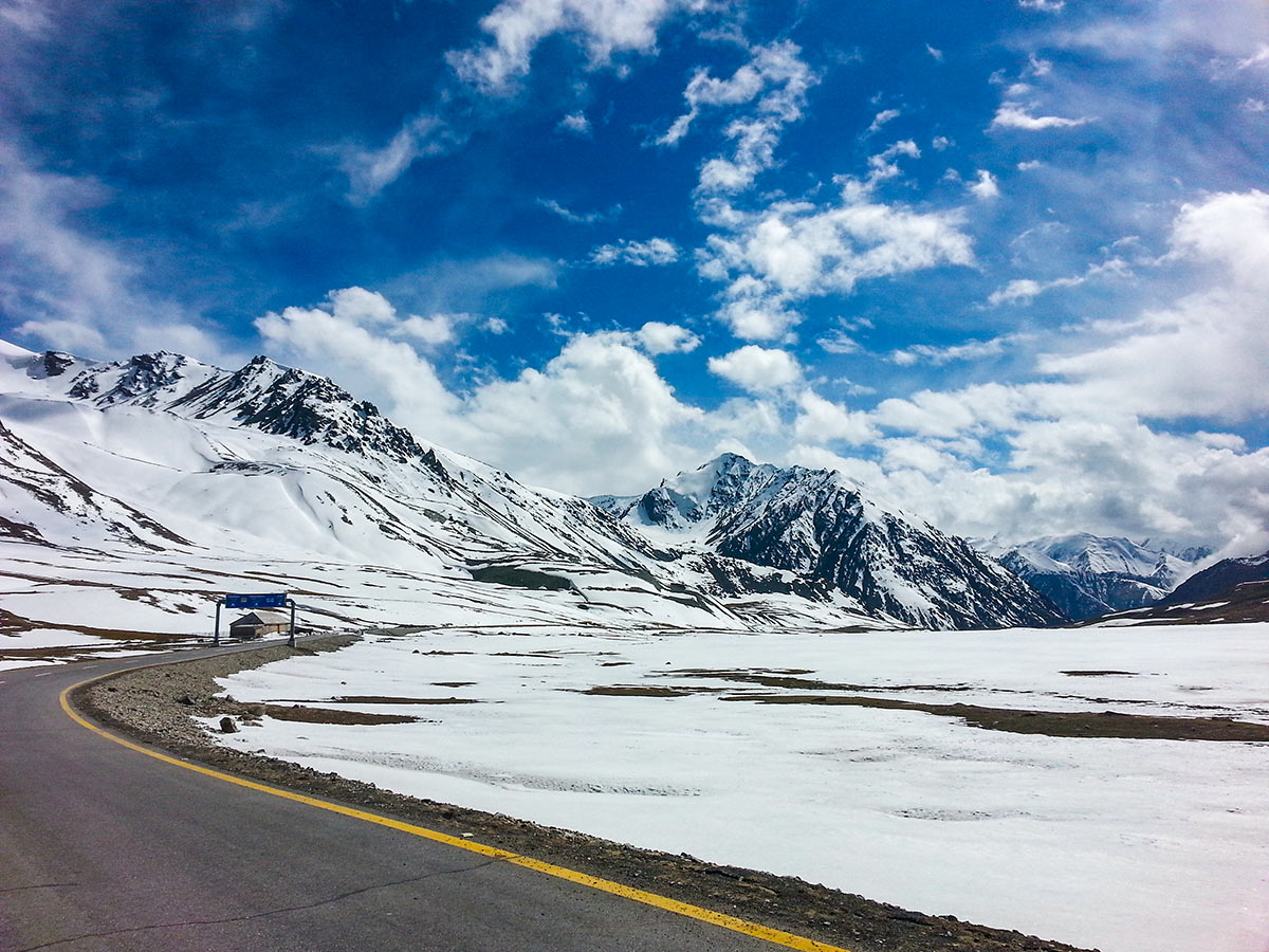 Khunkerab Pass on Hanza Valley Overland Tour in Pakistan