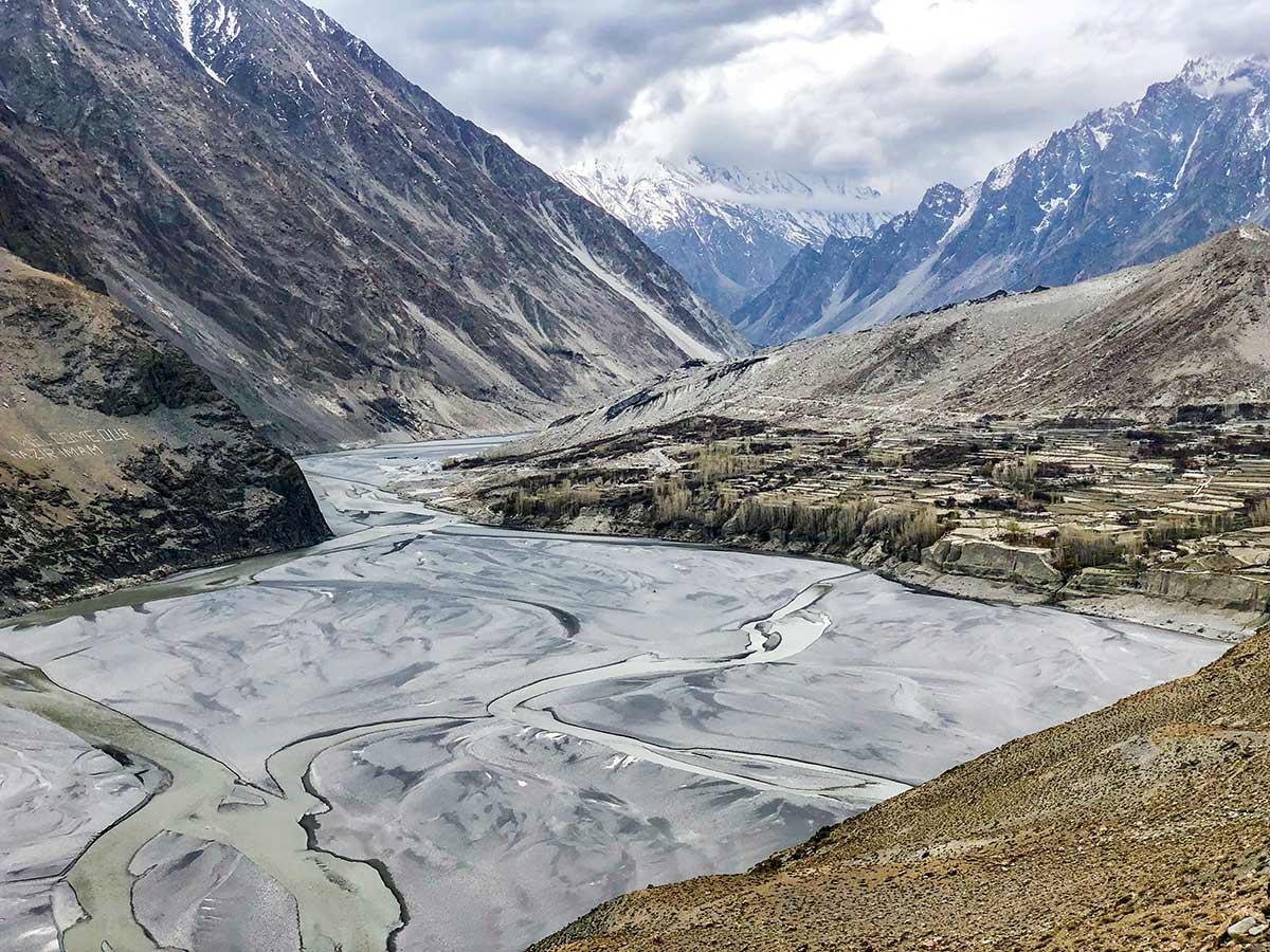Gulmit Valley on Hanza Valley Overland Tour in Pakistan
