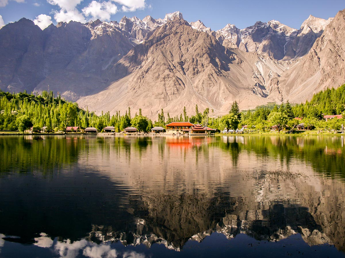 Shangrila Resort on guided Overland Tour in Skardu Valley Pakistan