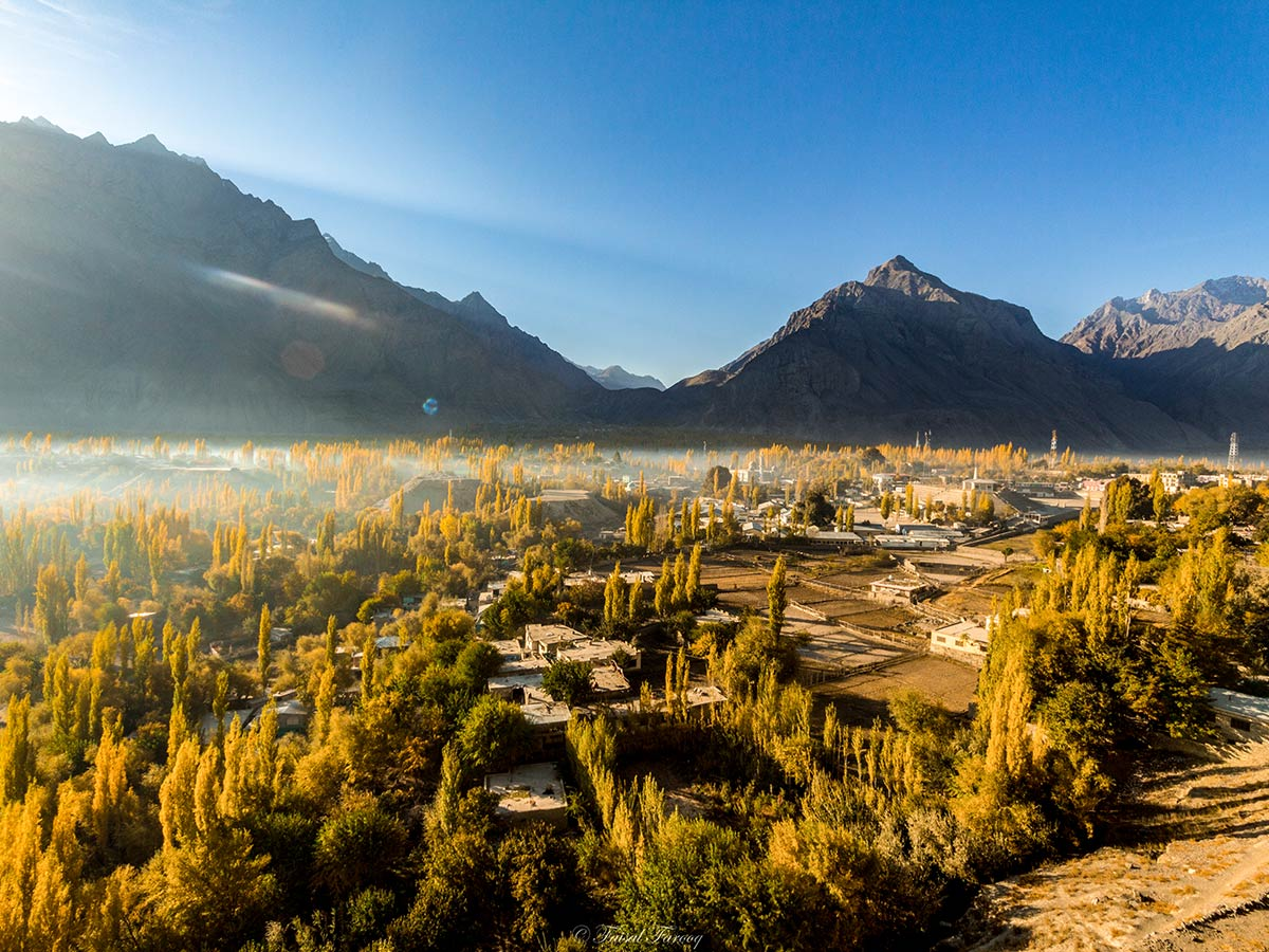 Beautiful Skardu Valley on guided Overland Tour in Skardu Valley Pakistan