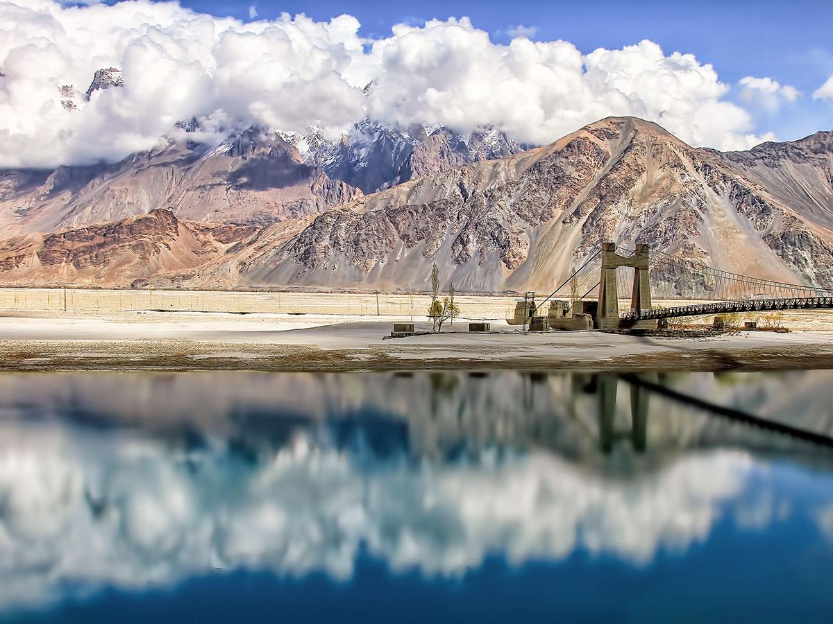 Skyok Valley on guided Overland Tour in Skardu Valley Pakistan