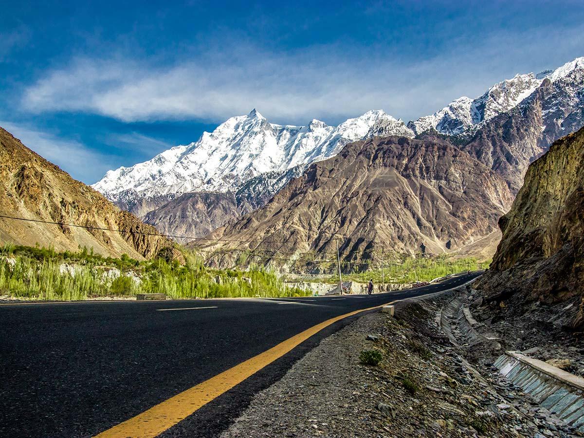 Karakoram Highway guided Overland Tour in Skardu Valley Pakistan