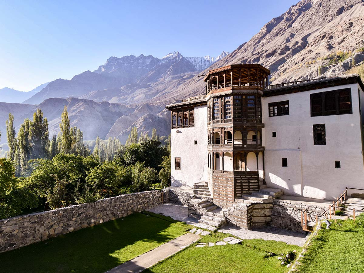 Khaplu Palace on guided Overland Tour in Skardu Valley Pakistan
