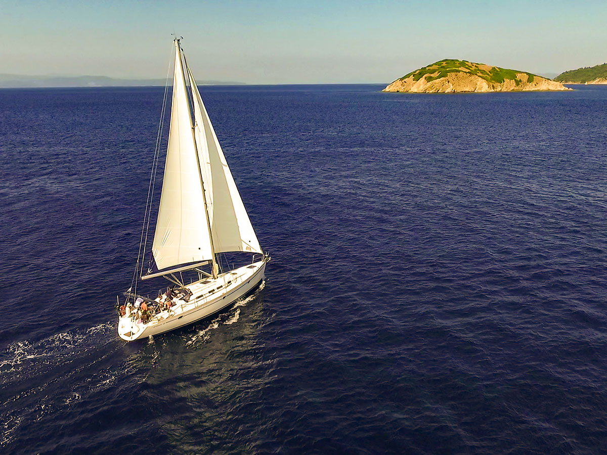 Private sailing holiday in Greece