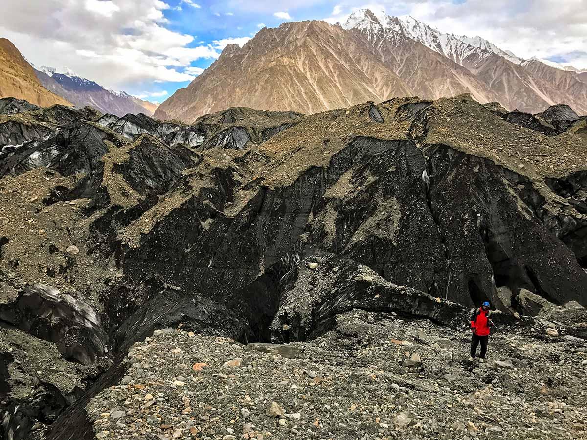 Bitanmal Hispar Glacier