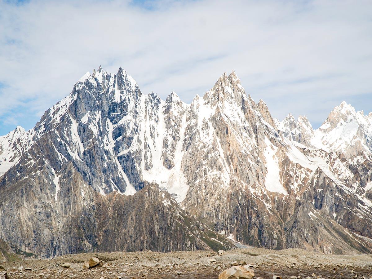 Mango Biafo Glacier
