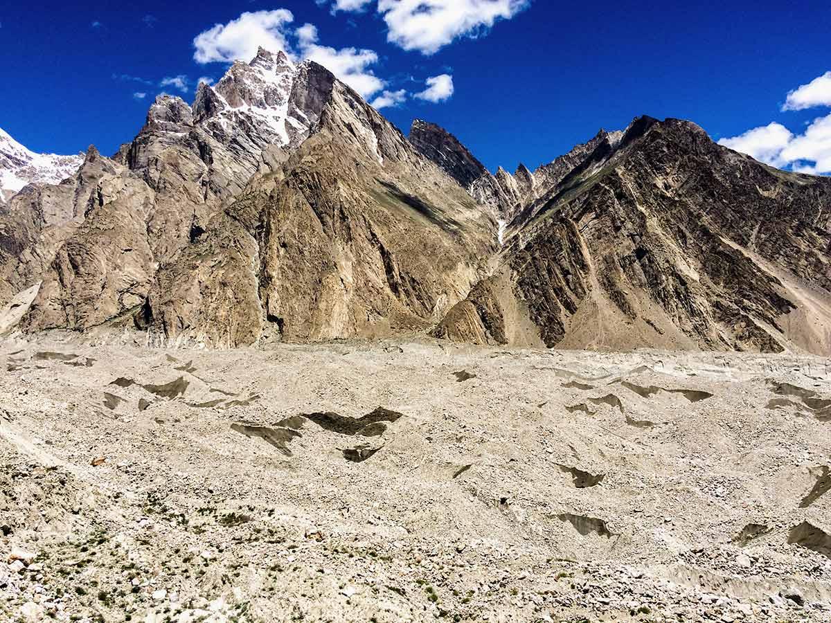 Namla Biafo Glacier