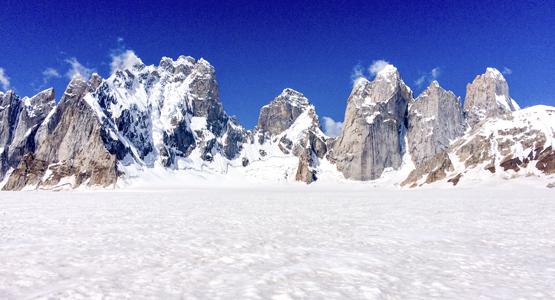 Pakistan Snow Lake