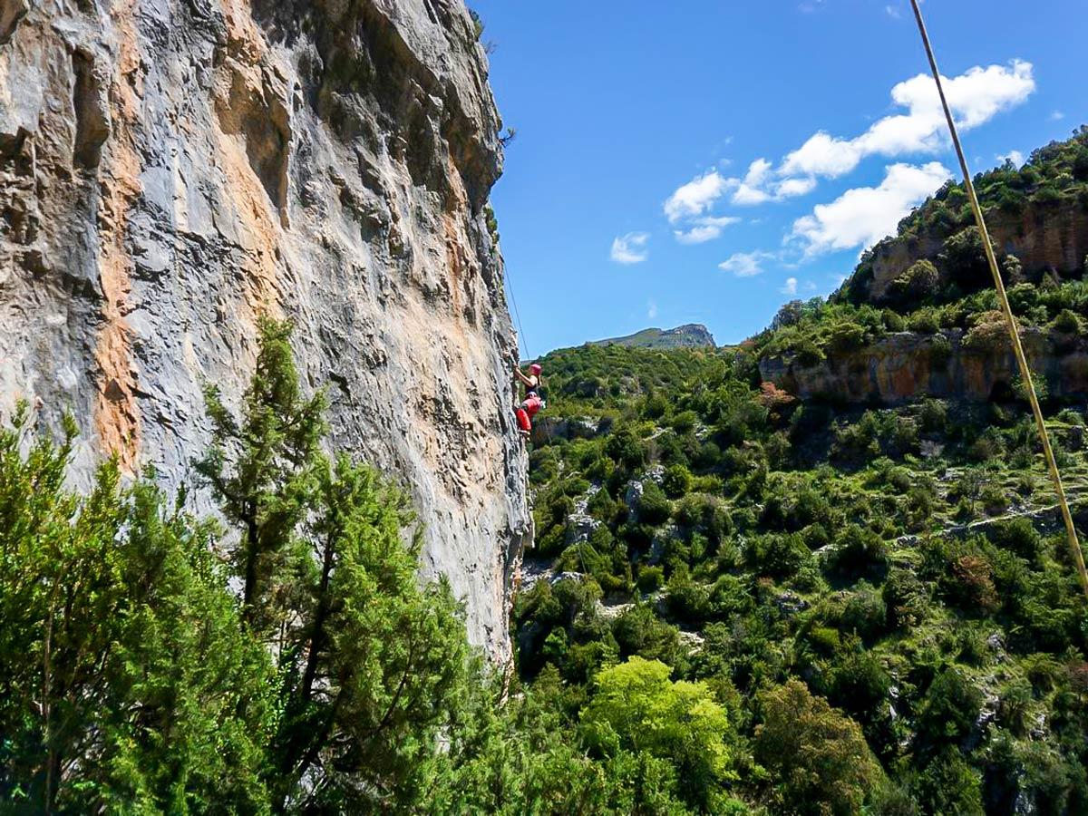 Big pitches in Rodeller, Spain