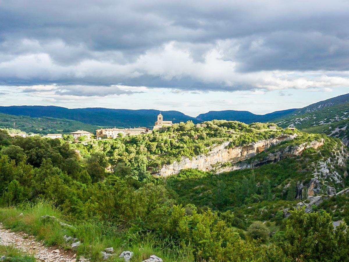 Views of Rodellar on Women's climbing camp in Spain