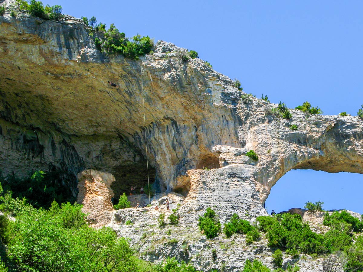 Amazing rock formations on Women's climbing camp in Rodellar, Spain