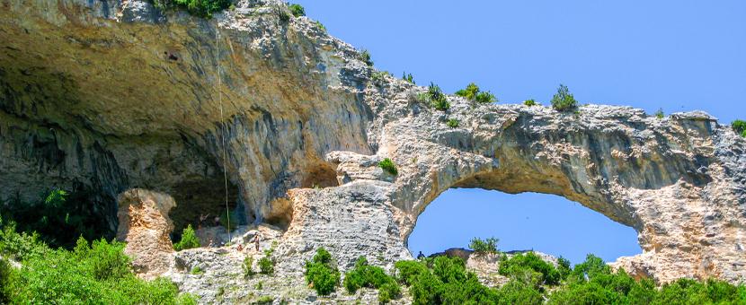 Beautiful rocks on Women's climbing camp in Rodellar, Spain