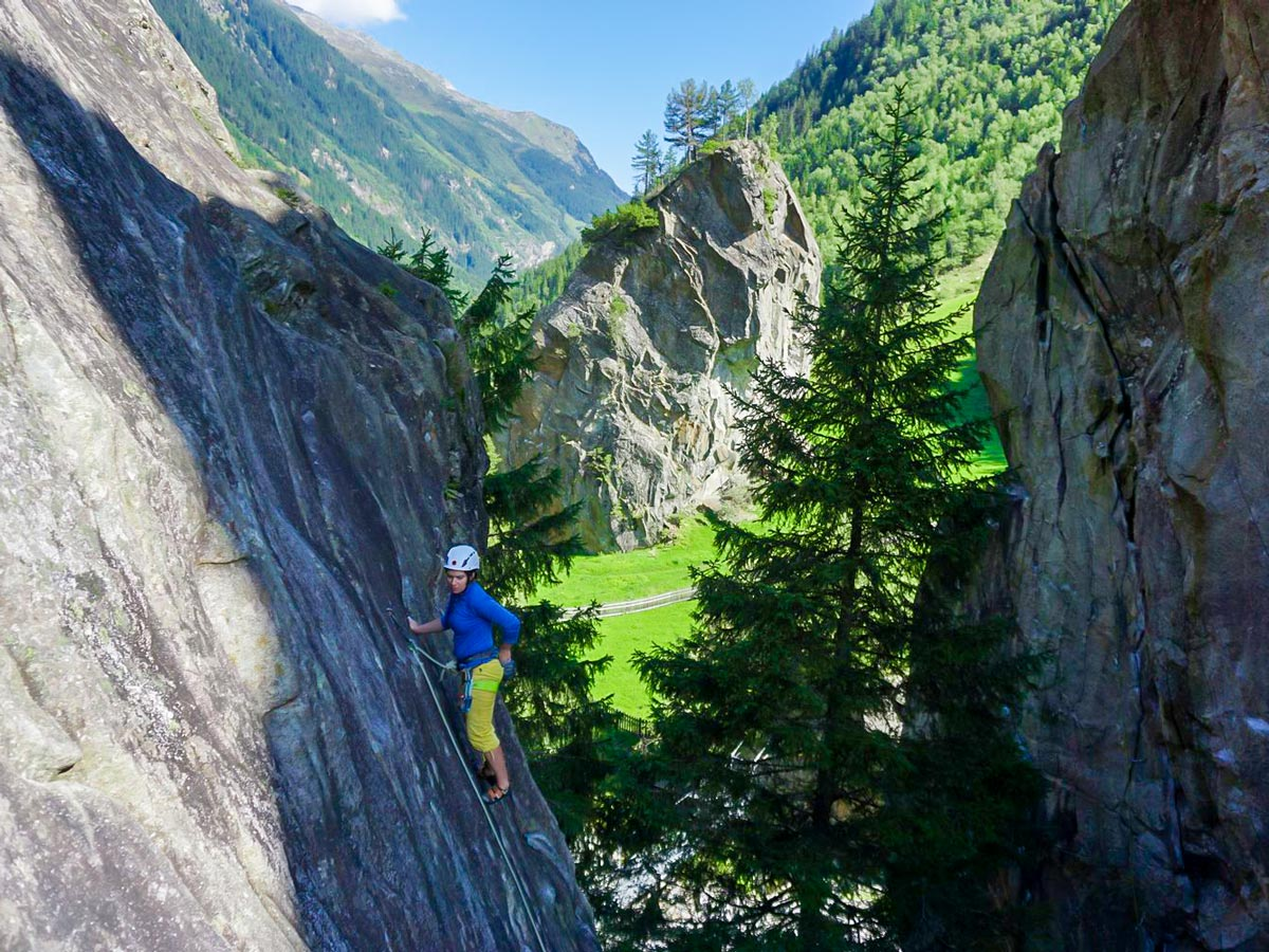 Incredible Views climbing in Zillertal