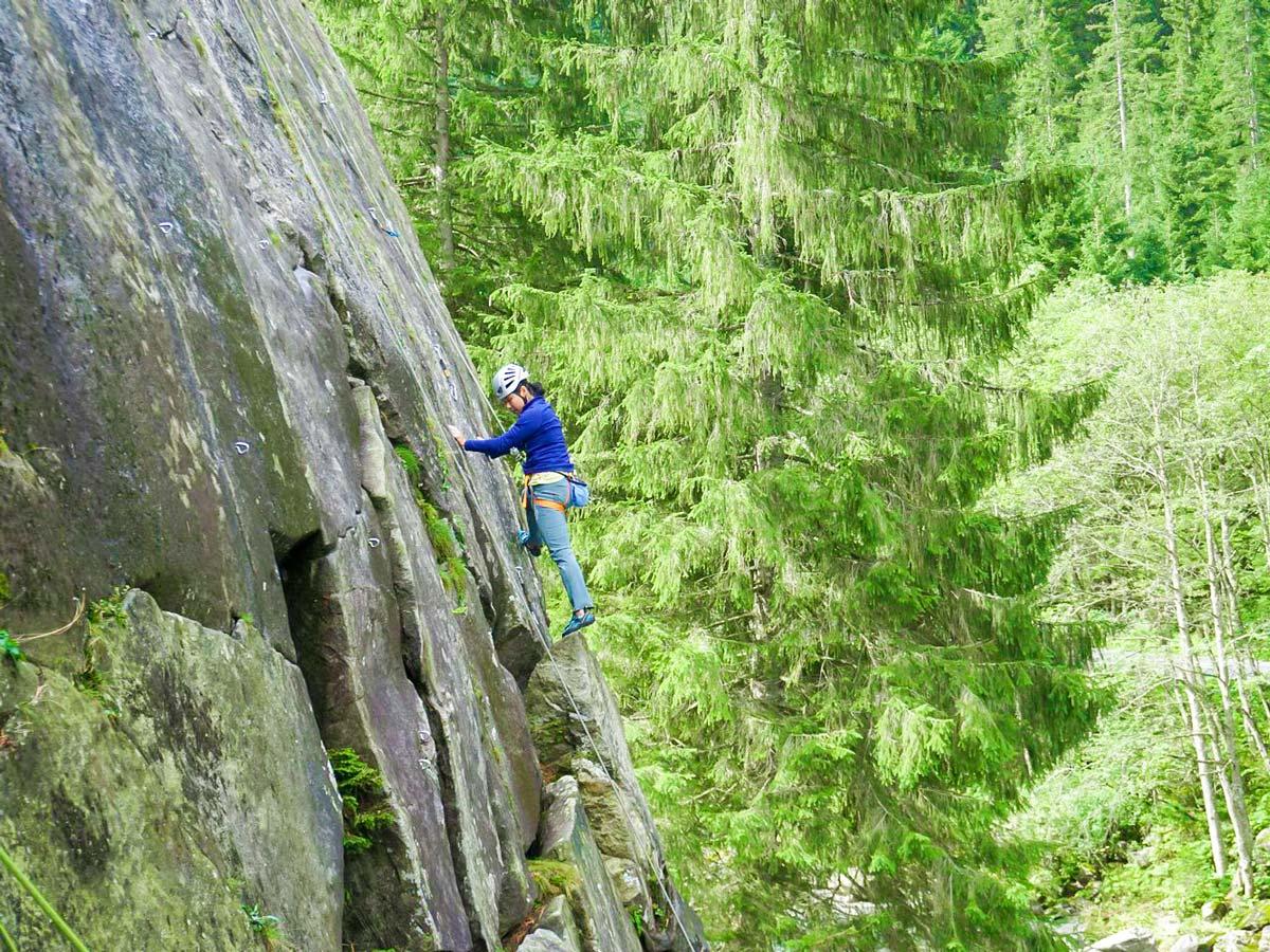 Climbing in Austrias Zillertal Region