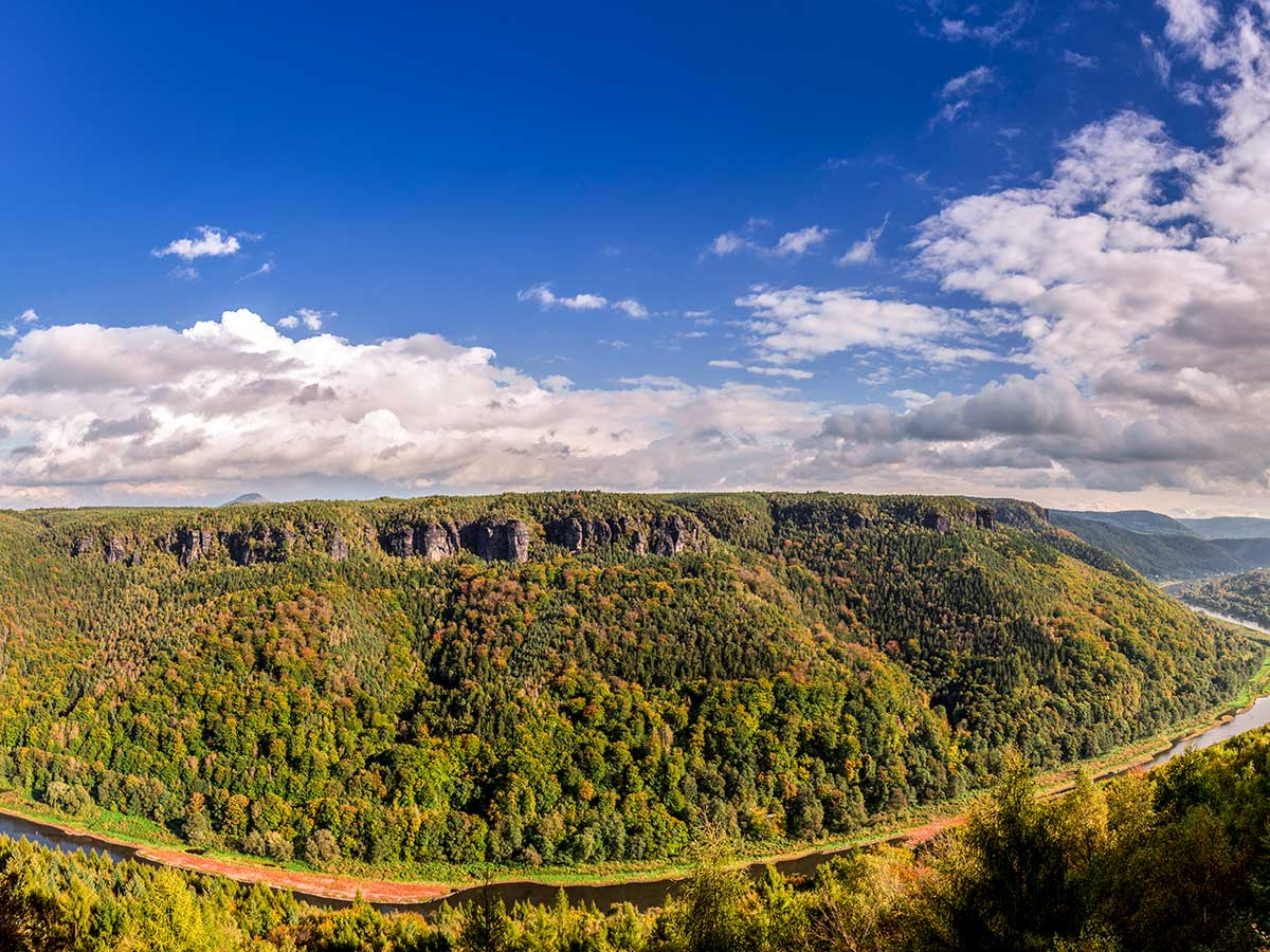 Climbing in Czech Republic rewards with amazing views