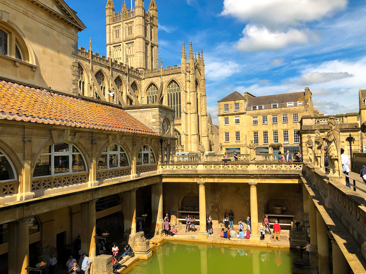Royal baths in Bath