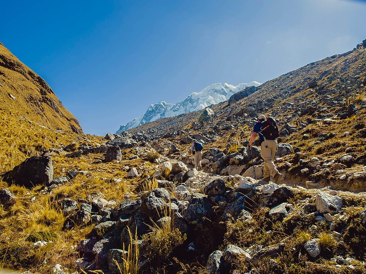 Salkantay Trek to Machu Picchu in Peru is an amazing multi day hike