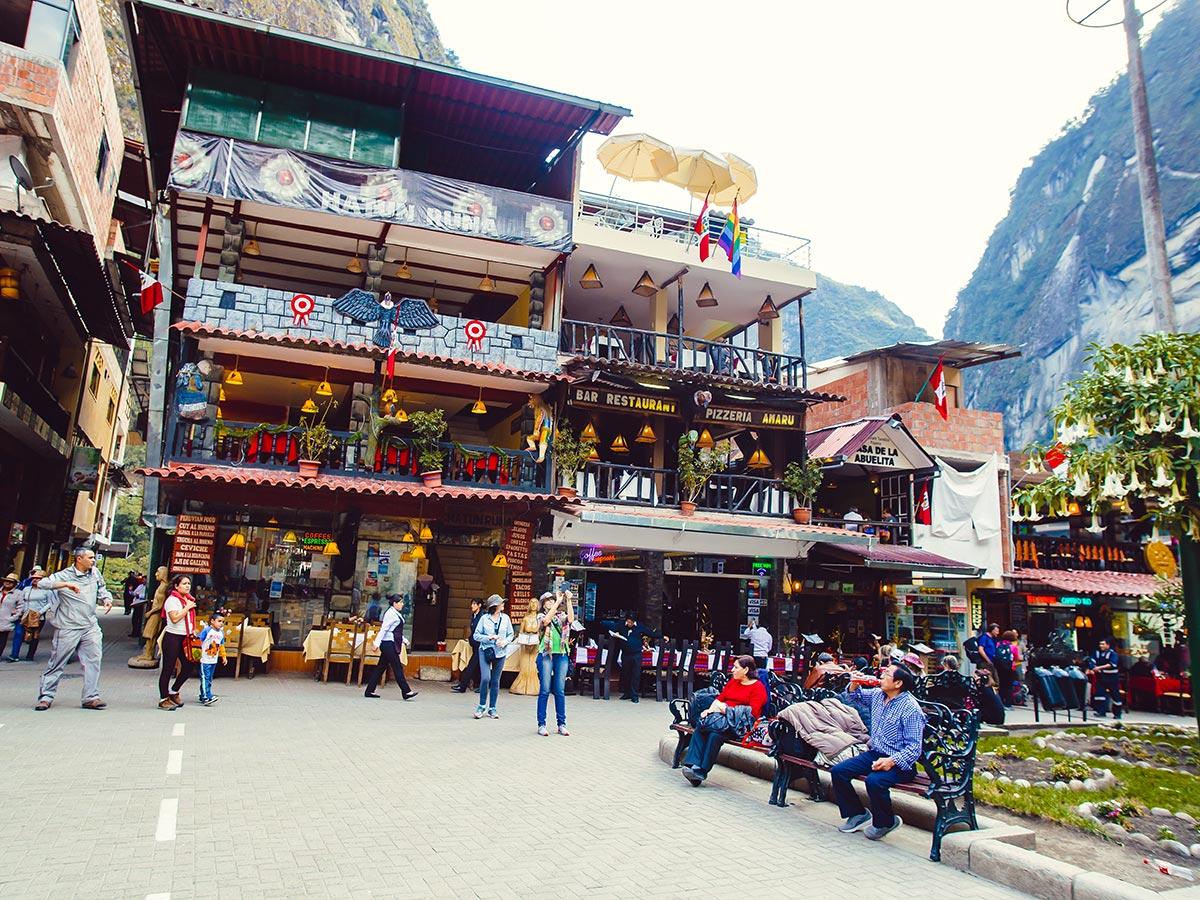Colorful village of Salkantay Trek to Machu Picchu in Peru