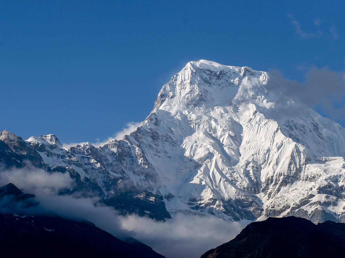 Mountain views on Annapurna Base Camp Guided Trek are really stunning