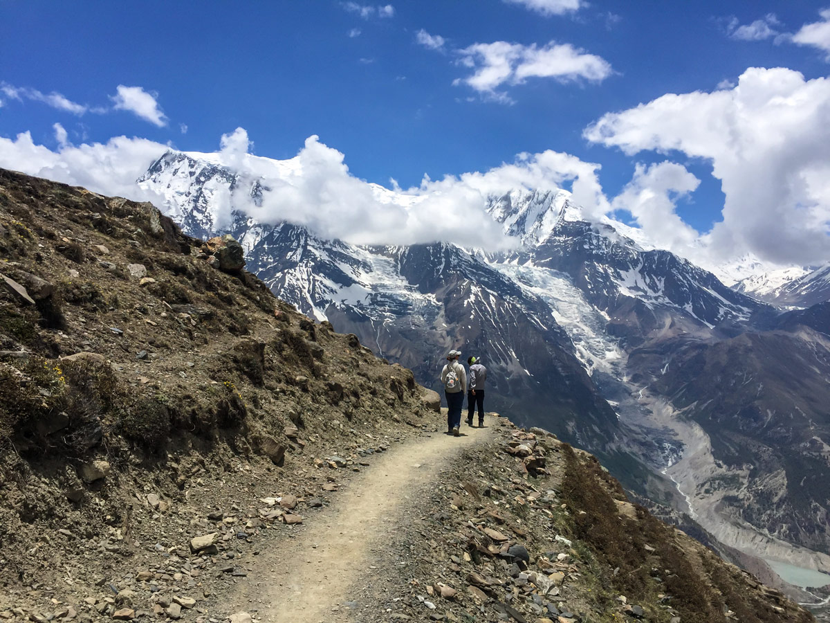 Hiking the famous guided Annapurna Circuit trek in Nepal is once in a lifetime experience