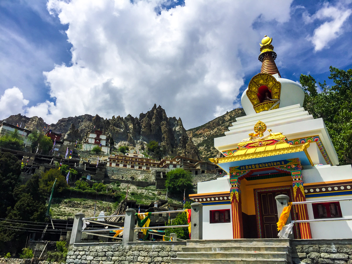Hiking the Annapurna Circuit trek in Nepal is a treat for culture lovers
