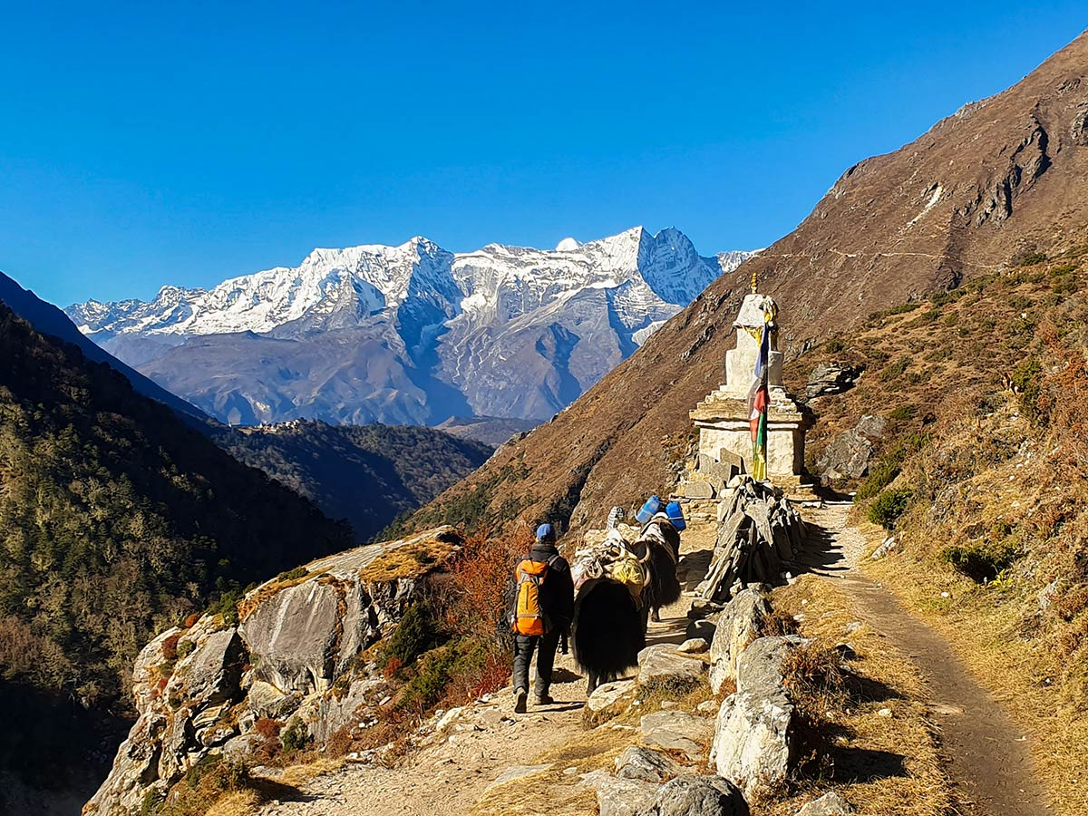 Trail to Annapurna and Everest is an amazing experience for Annapurna and Everest Luxury trekkers