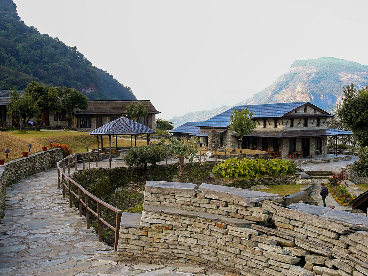 Trekking through Luxury Lodges near Annapurna and Everest is an unforgetable experience